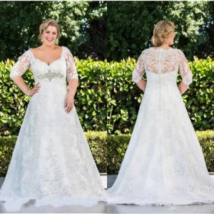 modest-plus-size-wedding-dress-gowns-long-sleeves-lace-a-line