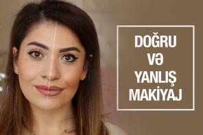 GÜNDƏLİK MAKİYAJDA EDİLƏN SƏHVLƏR